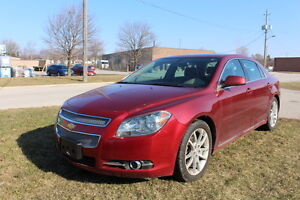 2009 Chevrolet Malibu LTZ - loaded, Certified $6,995