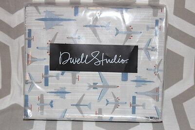 NIP Dwell Studio Dwellstudio Flight Airplane Full Duvet & Sham Set $169