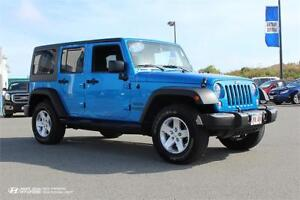 2015 Jeep Wrangler Unlimited! 4X4! Low Kms! GREAT SHAPE!