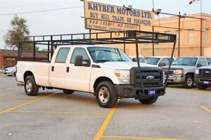 2011 Ford F-250 8Ft*21FT Ladder Rack Gas 6.2L|OPEN SUNDAY 10-6