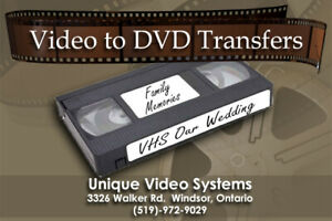 Video Tapes To DVD Transfers