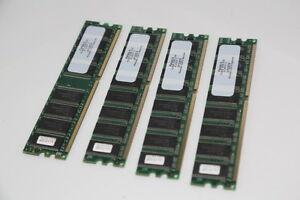 4X Mémoire ram 512Mb DDR 2700 pl333/5 2. 333Mhz (19720079)