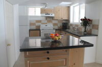 South Barrie - 2 Bed room walkout Basement apartment for Rent