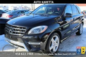 2015 MERCEDES-BENZ ML350 BLUETEC AWD NAVI, 360 CAM, TOIT, XENON
