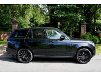 14 PLATE RANGE ROVER 4.4 SDV8 1 OWN FLRSH VOGUE STEALTH BLACK PACK 67,665 MILES