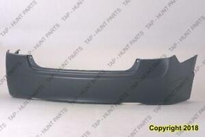 Bumper Rear Primed Sedan 1.8L Honda Civic 2006-2011
