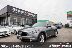 2013 Infiniti FX37 Premium AWD |All-View Cam | Nav | Sunroof