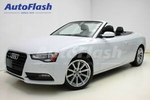 2014 Audi A5 Progressiv Quattro Convertible *GPS* Push-Start