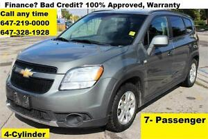 2012 Chevrolet Orlando LT Auto 7-SEAT FINANCE WARRANTY 165,000KM