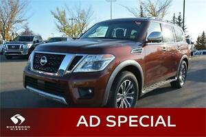 2017 Nissan Armada SL Navigation (GPS), Sunroof, Heated Seats,