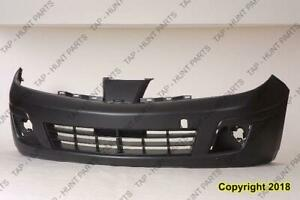 Bumper Front Primed Sedan Nissan VERSA SEDAN 2007-2011