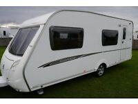 2008 Swift Charisma 570/6 6 Berth Caravan Fixed Bunks