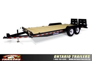 SURE TRAC UNIVERSAL RAMP IMPLEMENT TRAILER