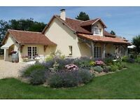 France, Dordogne. Beautifully renovated and extended property on 2.8 ha
