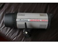 Flash Elinchrom Universal 1500s Monobloc Professional Lighting system