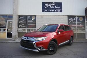 2017 Mitsubishi Outlander ES**7 PASS**CAM**LEATHER**SUNROOF**