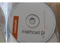 MATHCAD 12 SOFTWARE CD – ORIGINAL CD ONLY