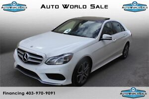 2014 MERCEDES E250 BLUETEC| AMG PACK| VERY LOW KMS|