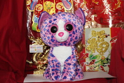 "TY BEANIE BOOS REAGAN THE JUMBO CAT.16"".CLAIRE'S EXCLUSIVE.2016.MWNMT.NICE GIFT"