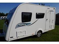 2016 Elddis Xplore 304 4 Berth Caravan As New Condition
