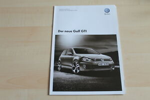 79421 vw golf vi gti preise technische daten. Black Bedroom Furniture Sets. Home Design Ideas