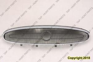 Grille Darkk Gary With Chrome Frame Buick Allure 2005-2007