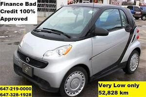 2013 Smart Fortwo Auto FINANCE 100% APPROVED WARRANTY 52,828km