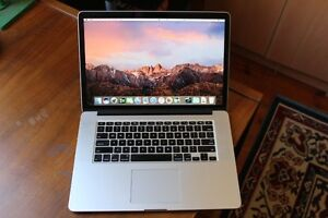 """Apple MacBook Pro Retina 15.4"""" 2012 2.3Ghz 8GB 256GB Boxed As New Hazelwood Park Burnside Area Preview"""
