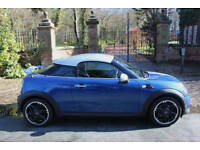 2012 MINI 1.6 COOPER PEPPER 2DR COUPE 38,952 MILES FSH LIGHTNING BLUE METALLIC