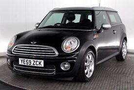09/59 Mini Clubman Cooper D 1.6 T/D Black £20 TAX NEW MOT!!!