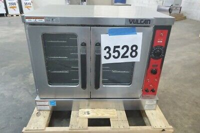3528 New Sd Vulcan Full Size Electric Convection Oven 208v Model Vc5ed-11d1
