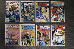 G.I. JOE Comic lot (8 issues) - Lot de 8 BD G.I. JOE