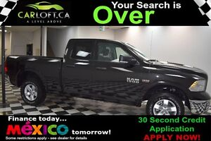 2017 RAM 1500 OUTDOORSMAN QUAD 4X4 - LOW KMS**BLUETOOTH**CRUISE
