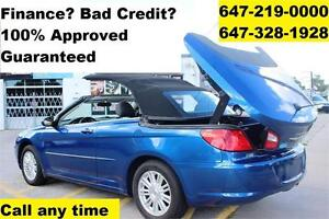 2009 Chrysler Sebring CONVERTIBLE FINANCE 100% Approved WARRANTY