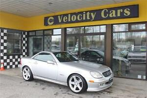 2000 Mercedes-Benz SLK320 V6 Convertible 87K Leather