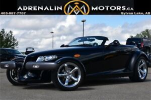 1999 PLYMOUTH PROWLER! WITH MATCHING TRAILER! DON'T MISS OUT!
