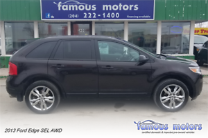 2013 Ford Edge SEL/NAVI/BACK CAM/BLUTHT/HTD SEAT/AWD/LOADED!!!