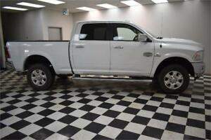 2014 RAM 2500 LONGHORN CREW 4x4 DIESEL-LEATHER*NAV*HEATED SEATS
