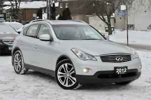 2012 Infiniti EX35 - AWD - Navigation - 360 Camera - Certified!