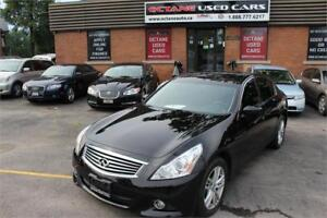 2012 INFINITI G37x Sedan Luxury AWD-CAMERA-PRM-PKG-LOADED