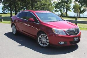 2014 Buick Verano Convenience 1-ALLOYS| ROOF| COMBO LEATHER