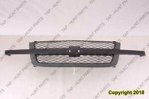 Grille Ptm Ss Model Without DaleEarnhardt Package Chevrolet Silverado 2003-2005