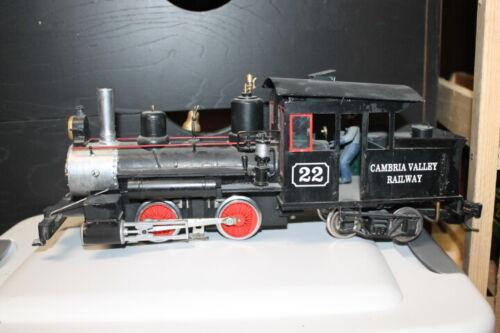 G Scale Forney Steam Engine Locomotive