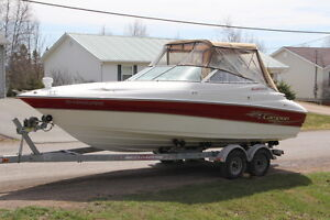 Very Well Maintained 23.5 foot Boat with Cuddy