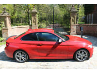 15 PLATE BMW M235i M SPORT AUTO 23,442 MILES FBMWSH EXCEPTIONAL EXAMPLE