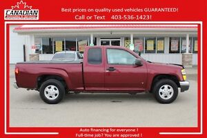 2007 GMC Canyon EXT CAB LOW KMS $FINANCING FOR ALL! FIRE SALE!!!
