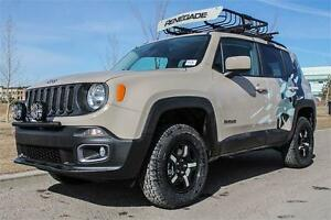 2016 JEEP RENEGADE NORTH 0% FOR 84 MONTHS, UNTIL JAN 31ST !!