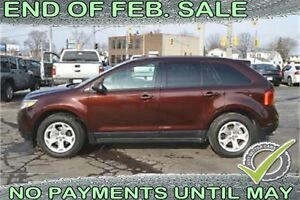 2012 Ford Edge SEL FWD -- $55 a week -- QUICK FINANCE APPROVAL!