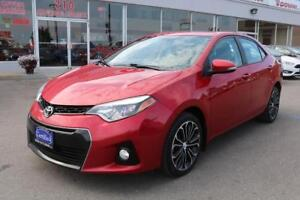 2014 Toyota Corolla S - No Accidents, Backup Camera, Bluetooth