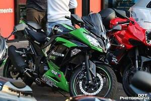 ninja 300 2015 new engine serviced 3 year warranty Adelaide CBD Adelaide City Preview